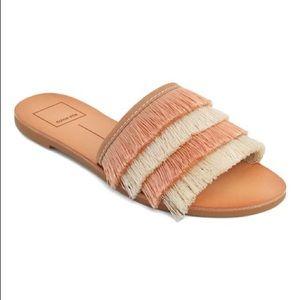 Dolce Vita Natural Celaya Fringe Sandal